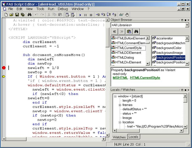 Fas script editor free download and reviews fileforum