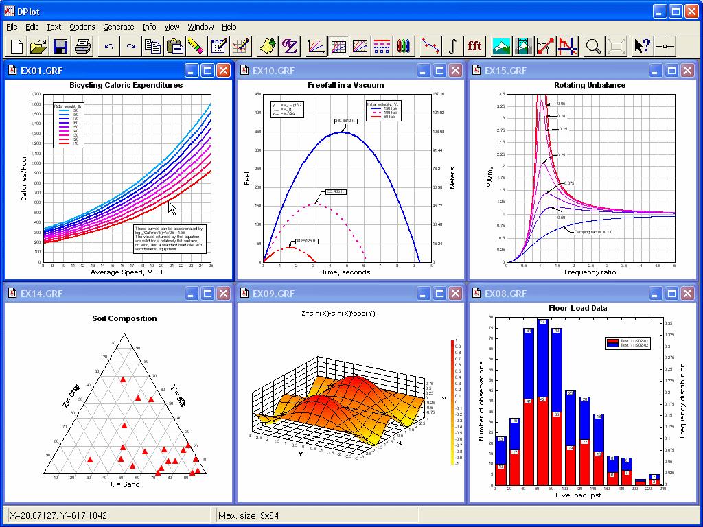 Скачать бесплатно программы для построения графиков