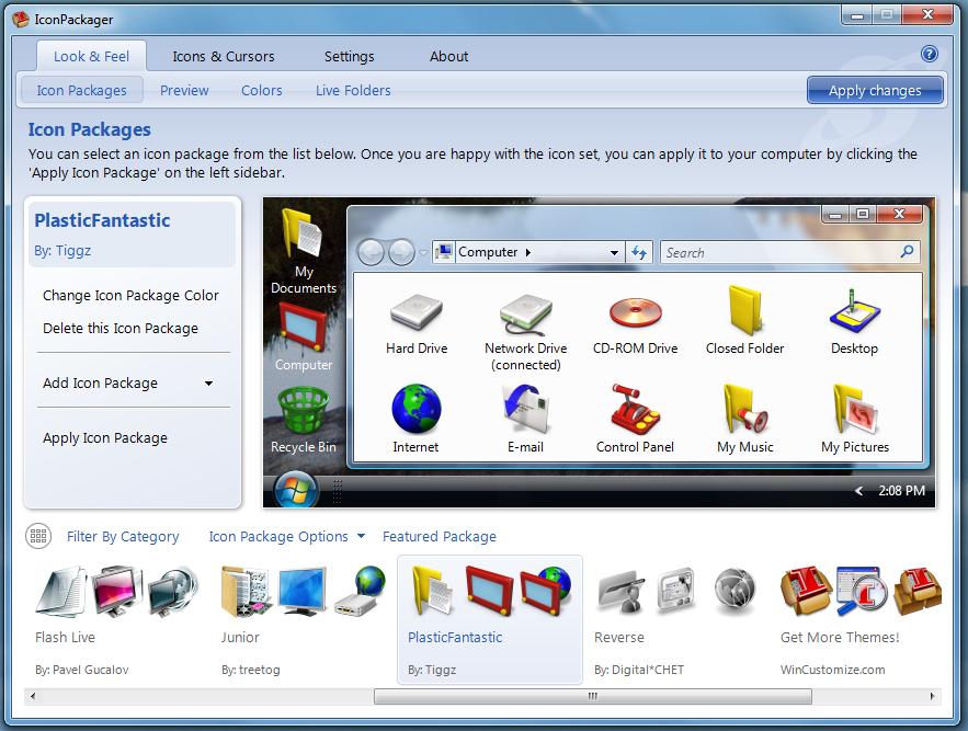 Stardock IconPackager 5.0 FULL (2009) RUS.