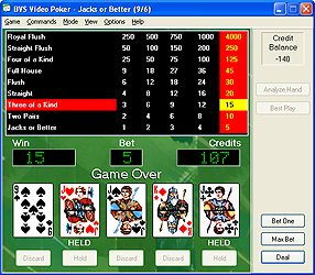 BVS Video Poker