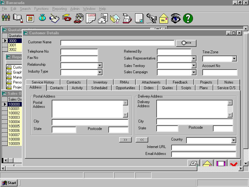 ms access inventory management database