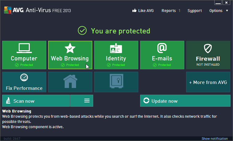 AVG Anti-Virus Free (64-bit)