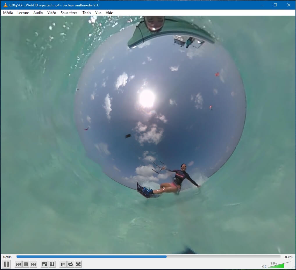 VLC 360 for Mac OS X