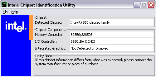 Intel Chipset Id Utility Download