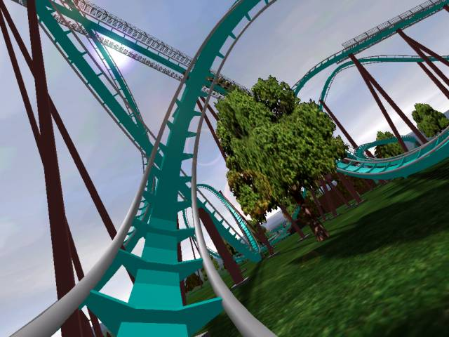 Build A Roller Coaster Simulation Game