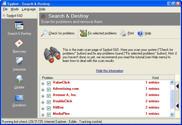 Spybot – Search & Destroy®
