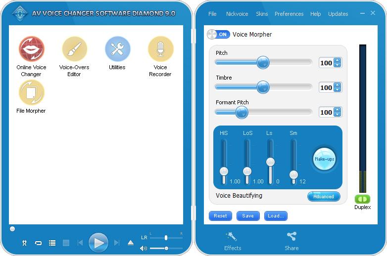 voice changer 5.0 diamond free download