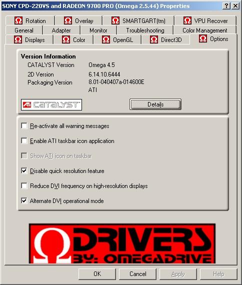 ati omega drivers 3.8.330