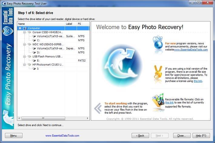 Digital PhotoRescue Professional
