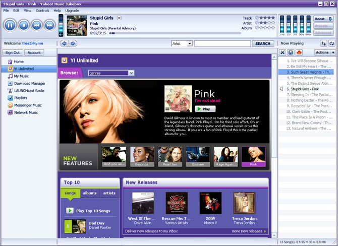 Yahoo! Music Engine