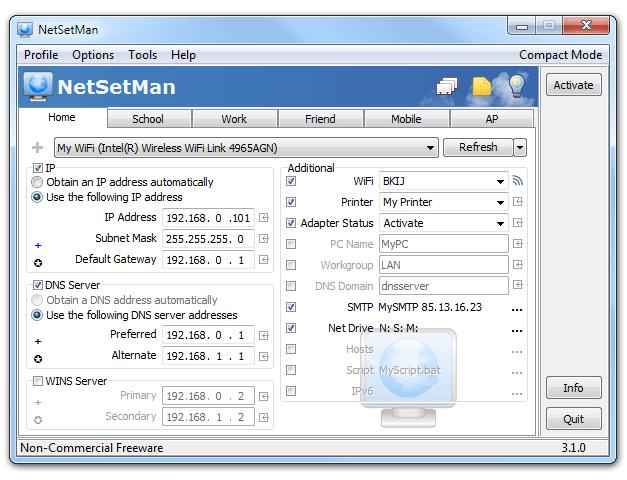 NetSetMan