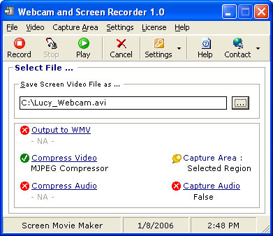 Webcam and Screen Recorder. Limitations. Yes - 15 day timeout. Uninstaller