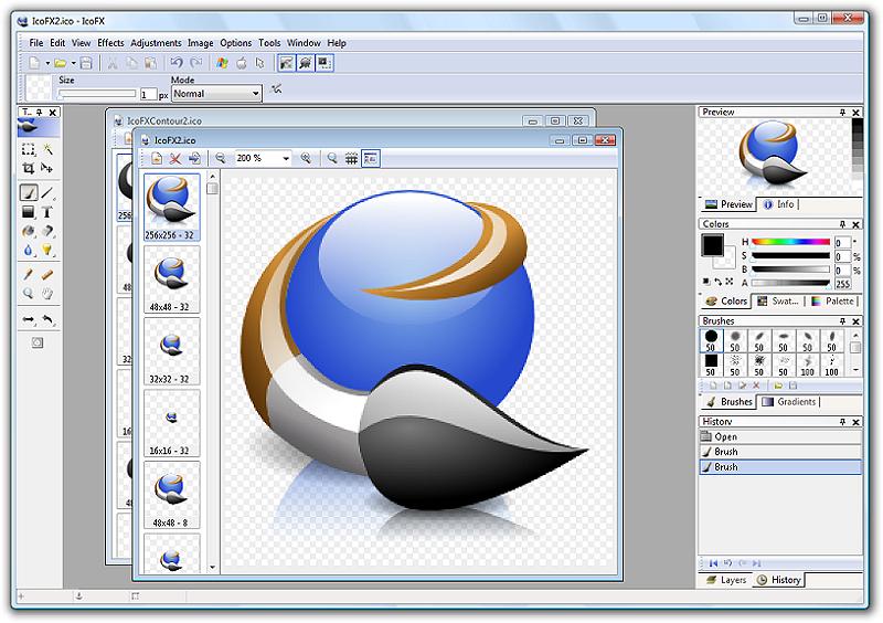 IcoFX letzte Freeware-Version - Download - CHIP