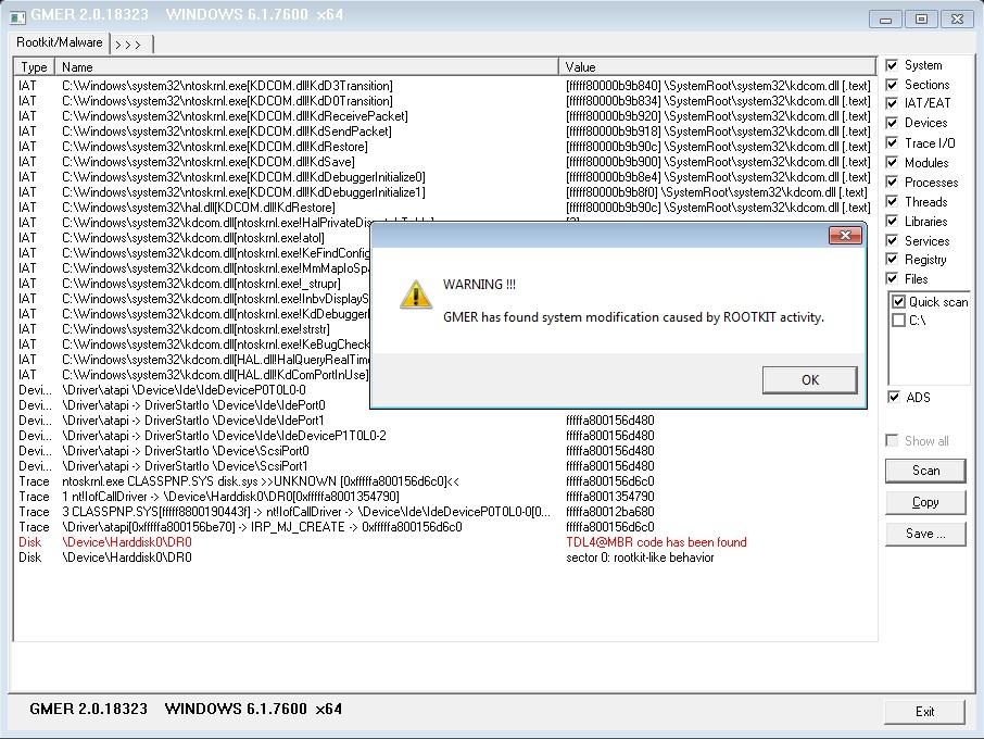 Сторонних приложений, улучшена проверка сервисов и реестра, исправлена