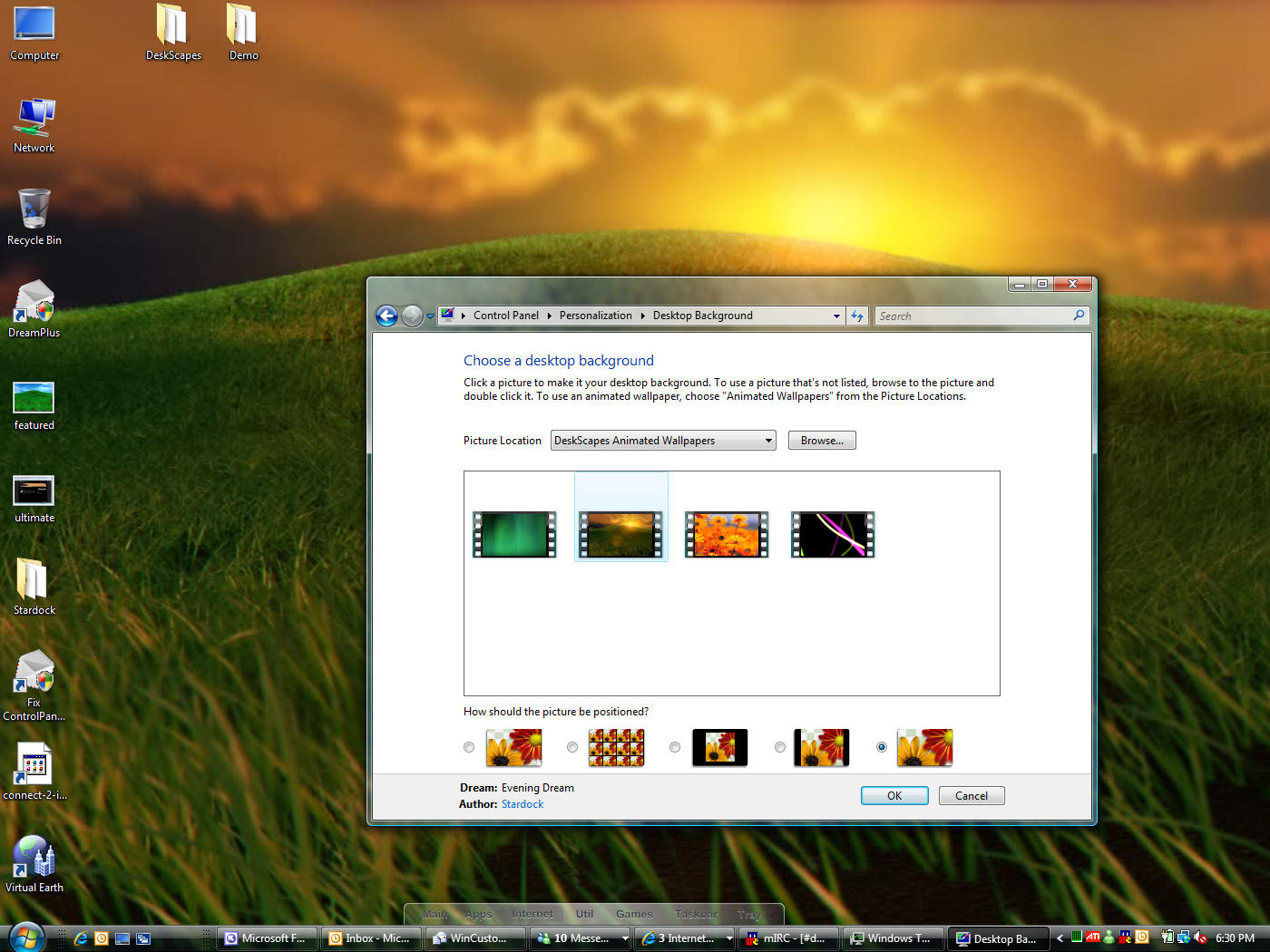 Details of Stardock DeskScapes 2-With Crack torrent. Download free