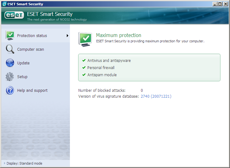 ESET Smart Security 4.2.71.2 | Full Version | 47.15MB