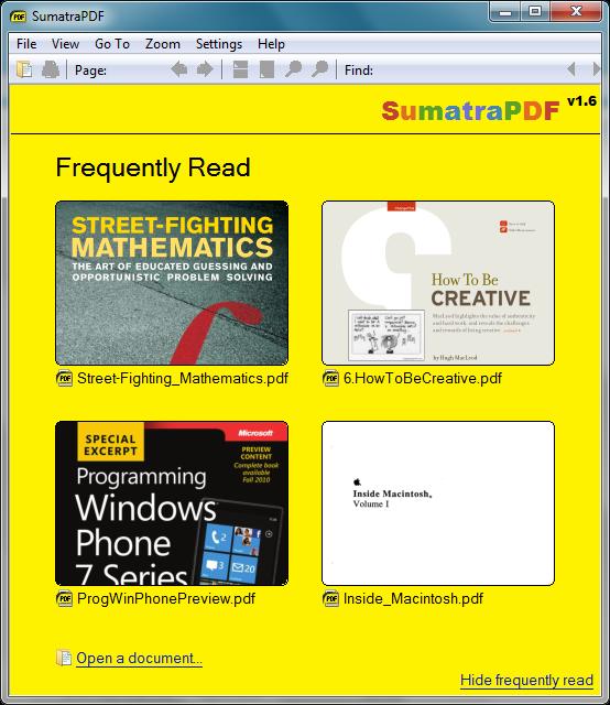 Sumatra PDF (64-bit)