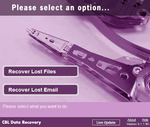Download data recovery software free.
