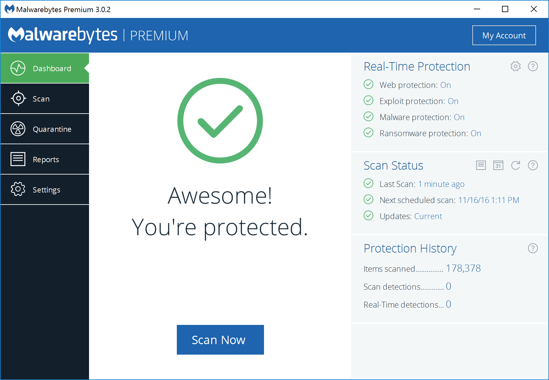 Malwarebytes' Anti-Malware (Beta)