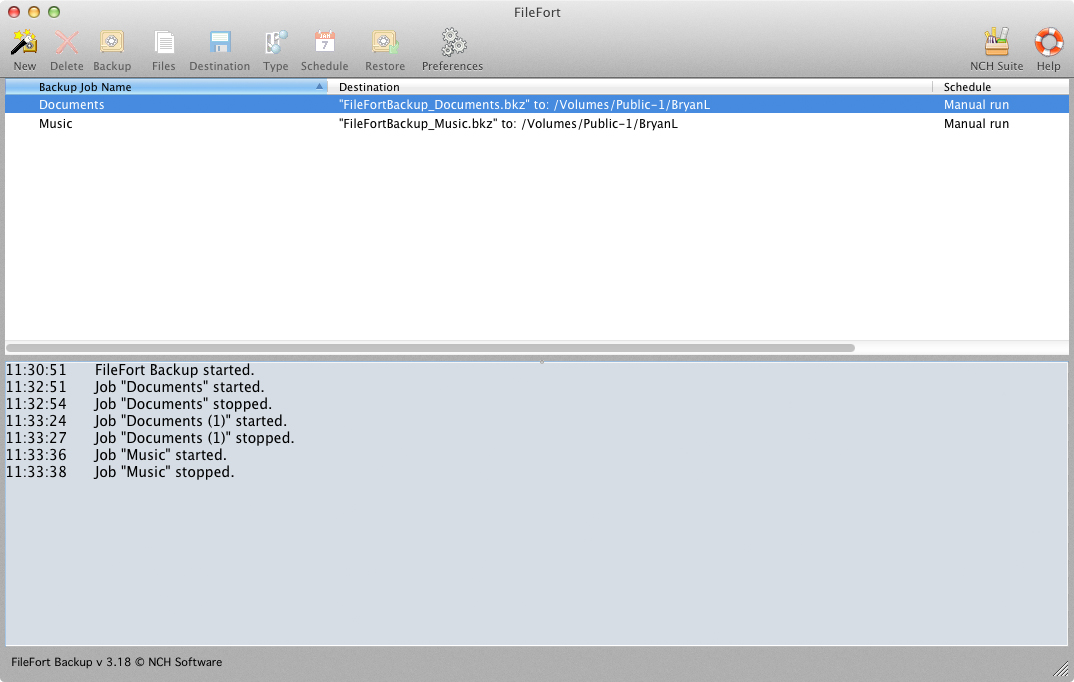 FileFort for Mac OS X