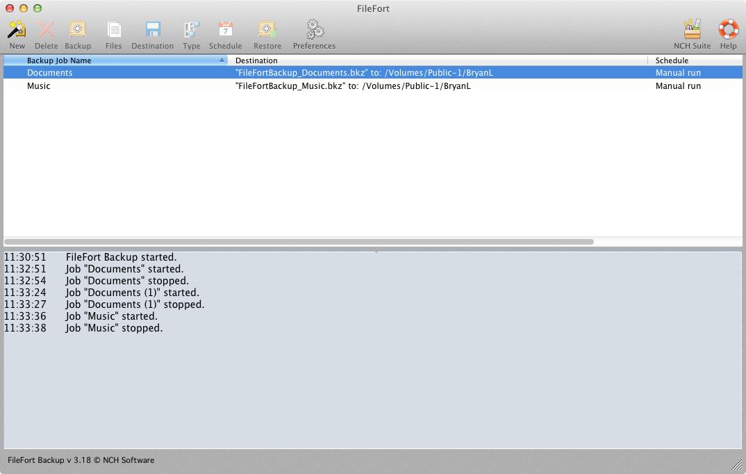 FileFort for Mac OS X