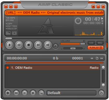 AIMP Classic screenshot