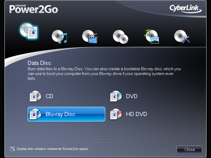 how to rip a dvd with cyberlink power2go