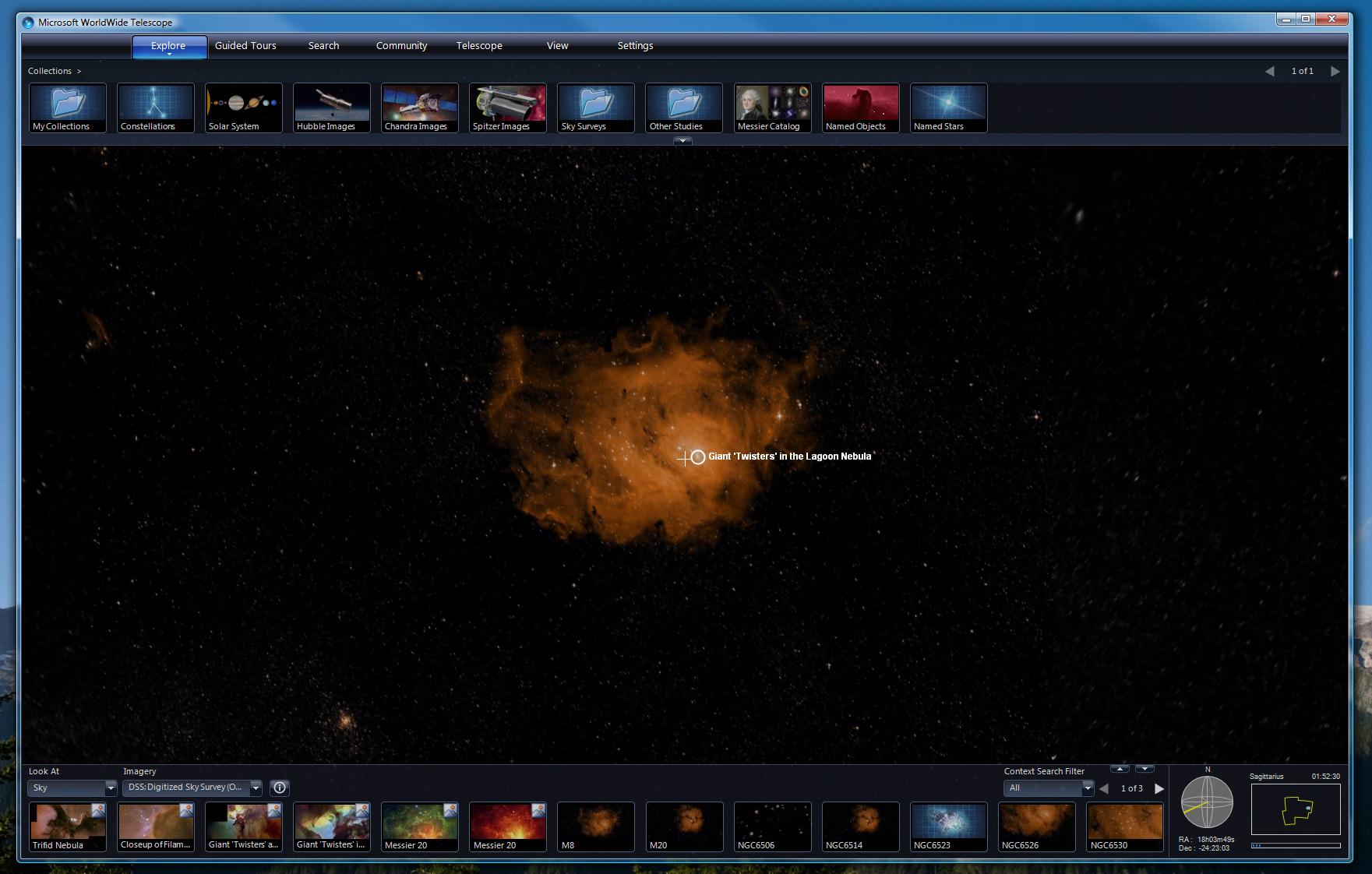Microsoft WorldWide Telescope