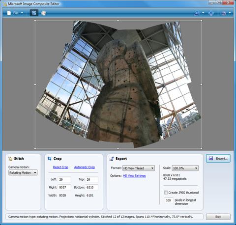 Microsoft Image Composite Editor (32-bit)