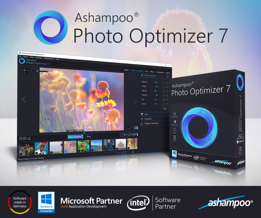 Ashampoo Photo Optimizer 6.0.3 + Registration