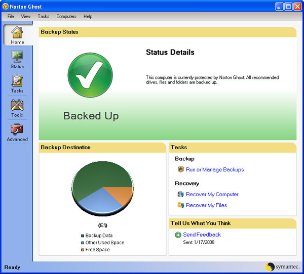 Norton Ghost Free Download and Reviews - Fileforum