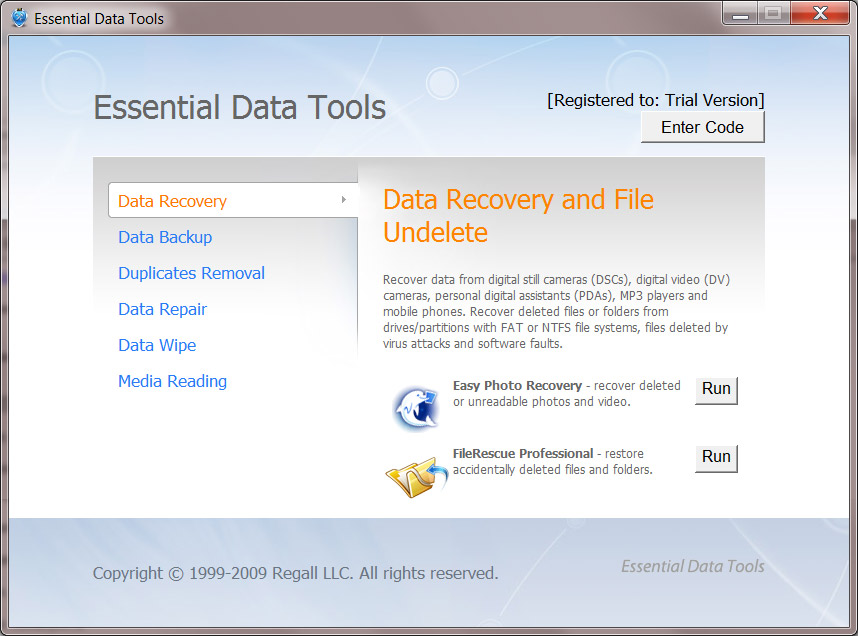 Essential Data Tools