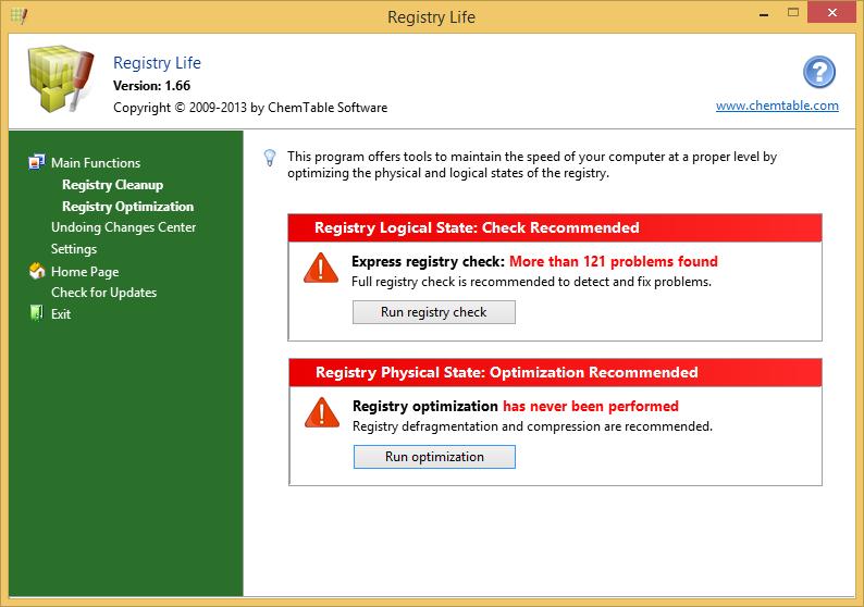 Registry Life 3.0
