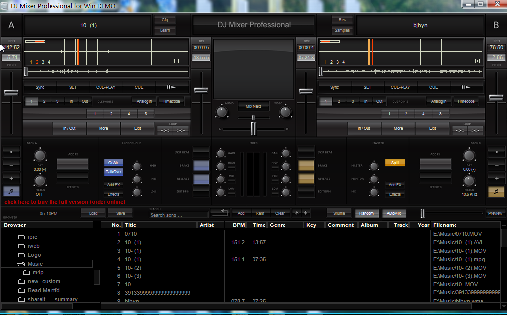 DJ Mixer Pro for Windows Free Download and Reviews - Fileforum
