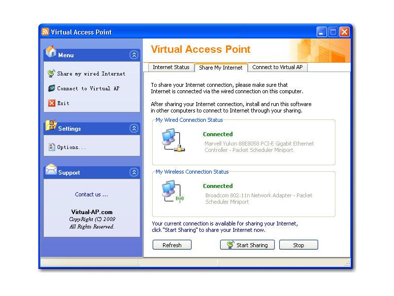 скачать драйвер для microsoft virtual wifi miniport adapter