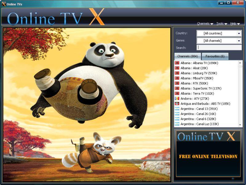 Windows 7 Online TVx 6.0.2 full