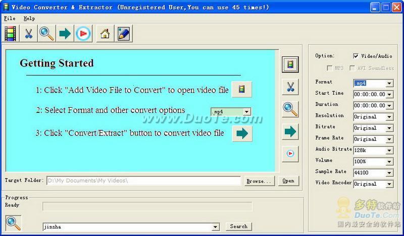 Video Converter & Extractor