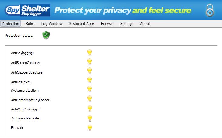 SpyShelter Free - ดาวน์โหลดโปรแกรมฟรี | Freeware shareware