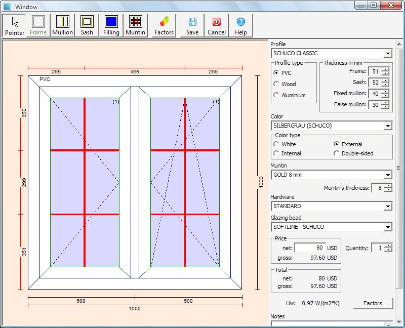 Pvc windows designer free download and reviews fileforum Simple drawing program for windows