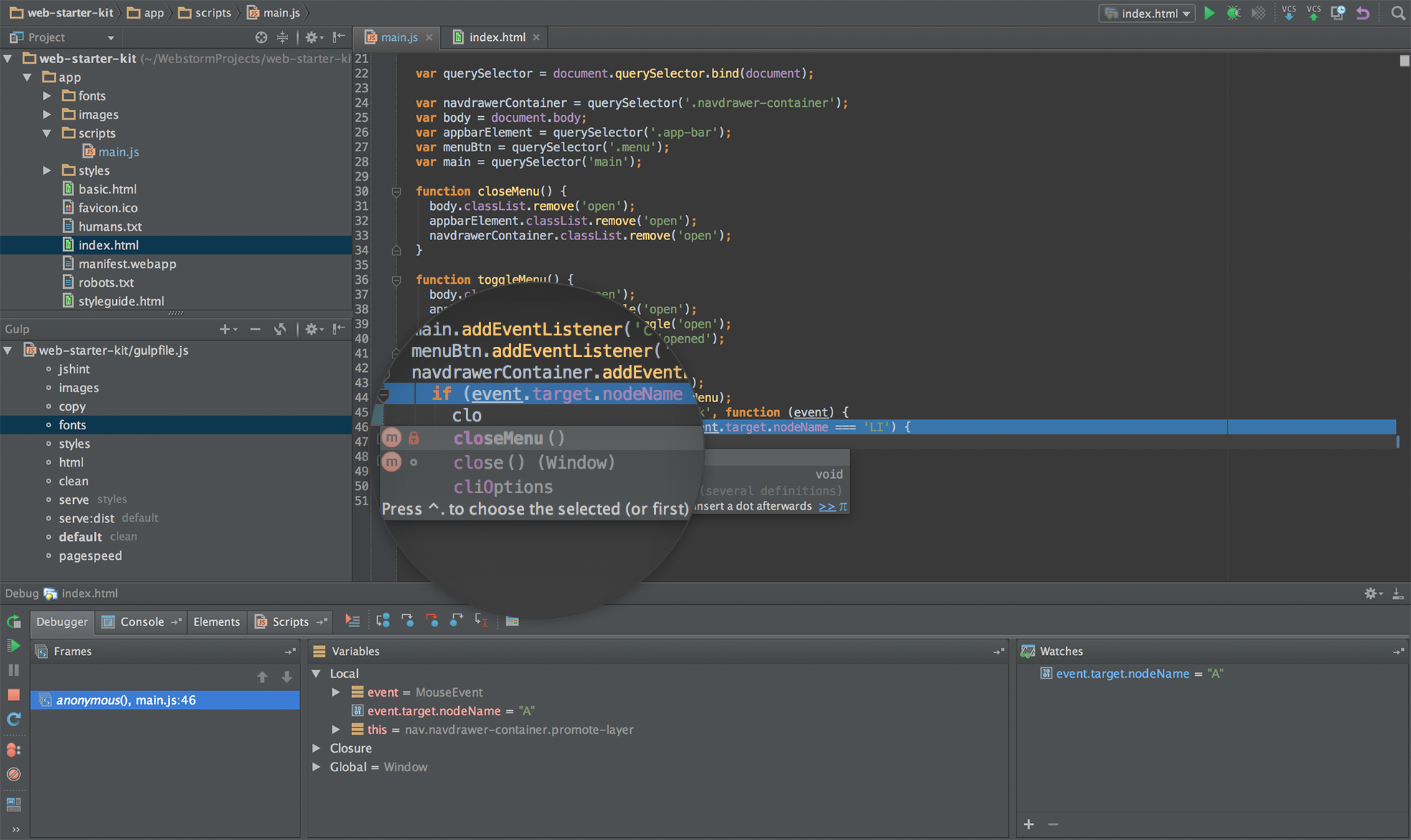 WebStorm for Windows Free Download and Reviews - Fileforum