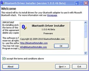 Bluetooth Driver Installer (64-bit)