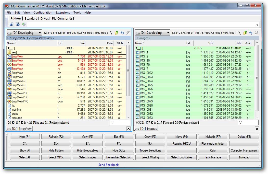 1303202320 2 Multi Commander: Administrador de ficheros con pestañas