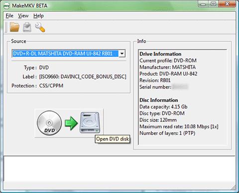 MakeMKV for Windows