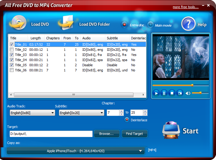 All Free Dvd To Mp4 Converter Free Download And Reviews