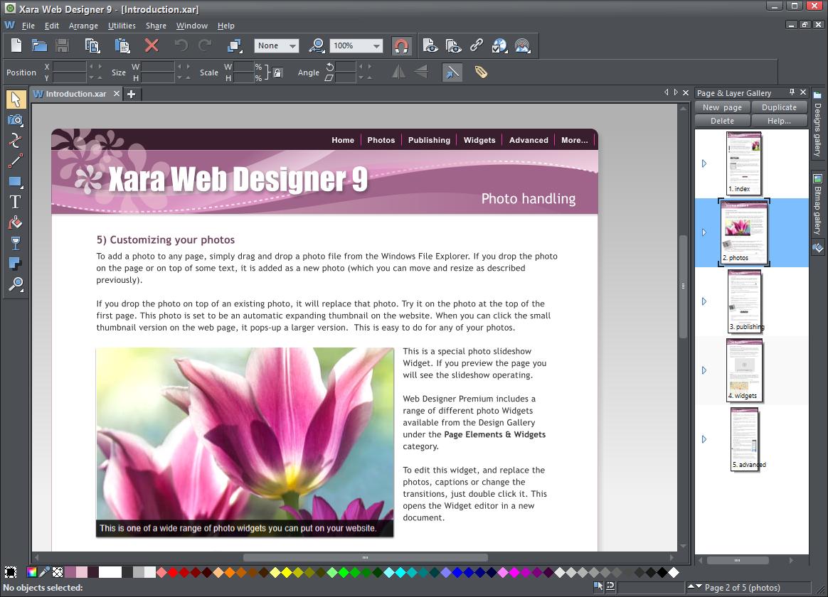 Xara Web Designer Premium (32-bit)