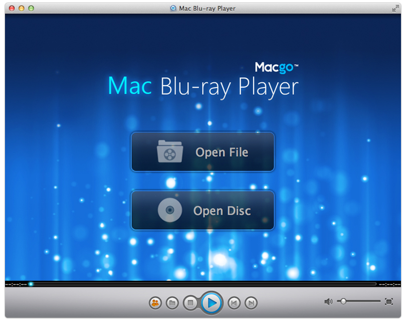 Macgo Blu-ray Player for Mac OS X