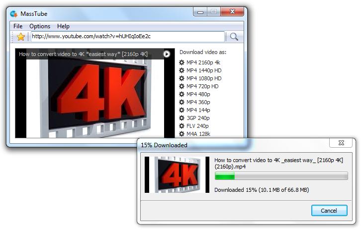 Cкачать программу MassTube 11.5.2.801 бесплатно.