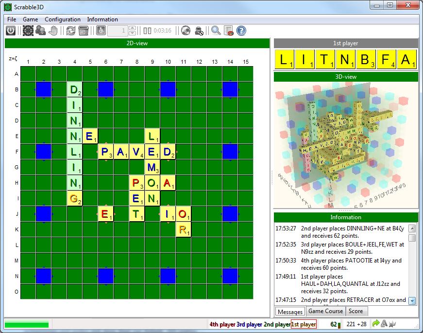 Scrabble3D for Windows