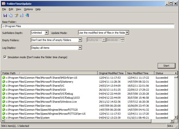 FolderTimeUpdate (64-bit)