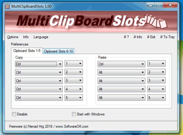 MultiClipBoardSlots